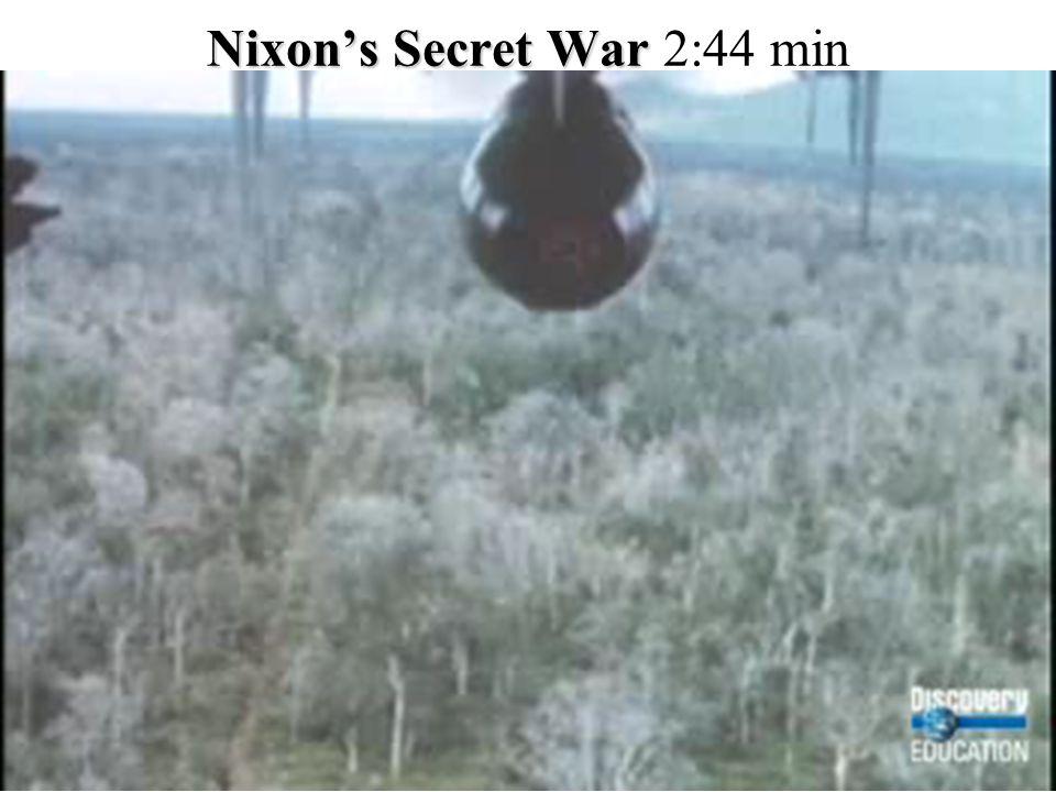 Nixon's Secret War 2:44 min