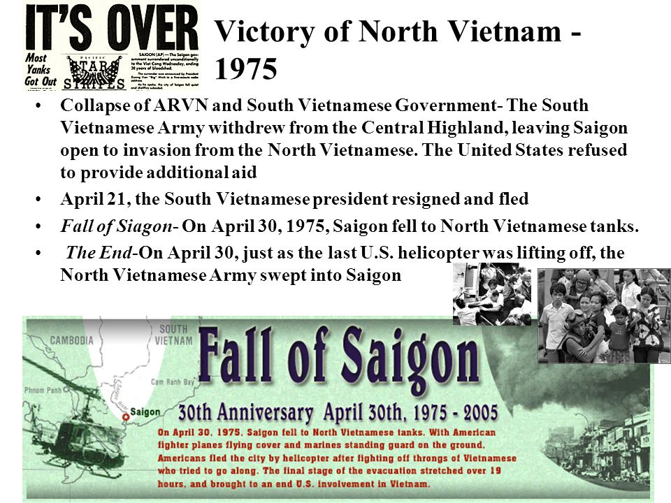 Victory of North Vietnam - 1975