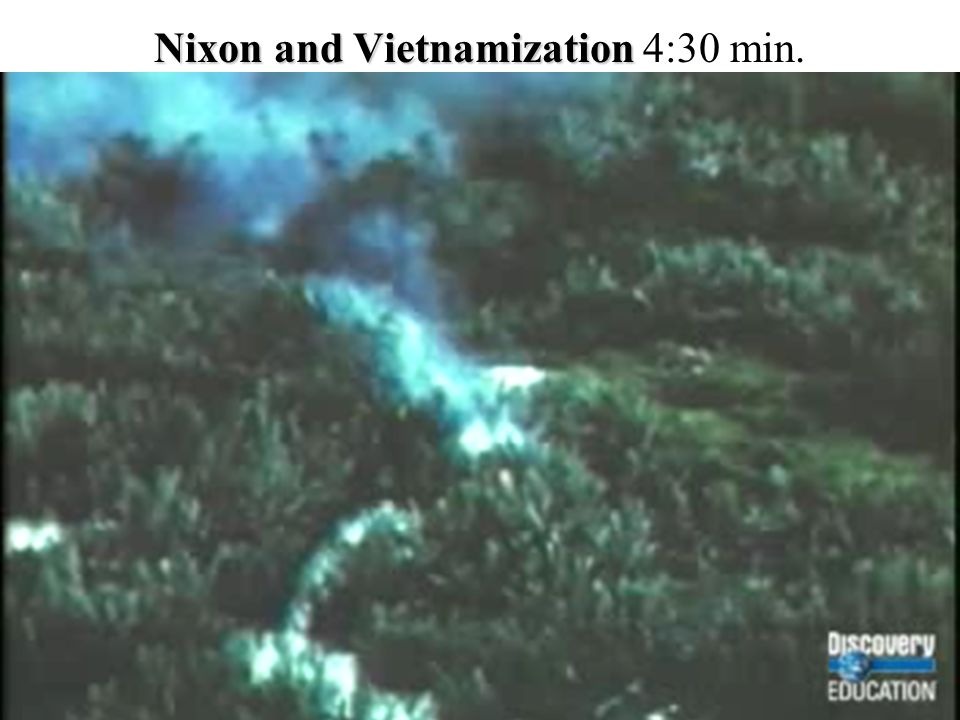 Nixon and Vietnamization 4:30 min.