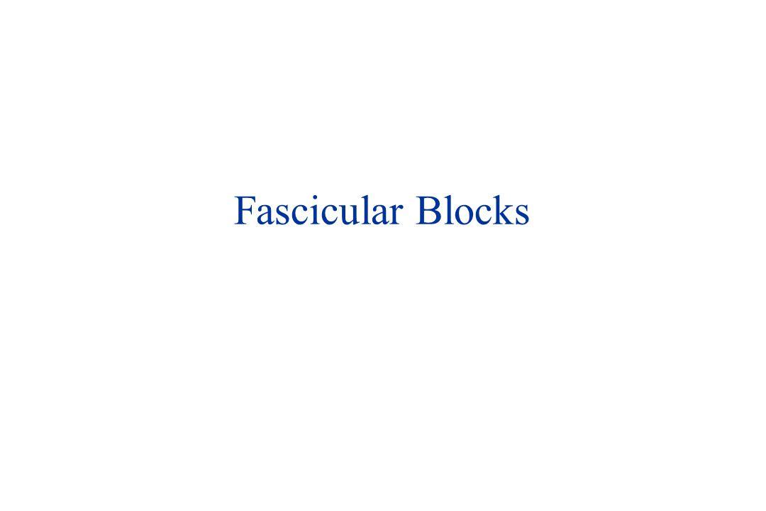 Fascicular Blocks