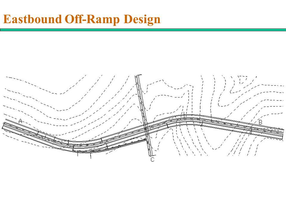 Eastbound Off-Ramp Design