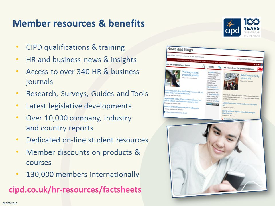 Member resources & benefits
