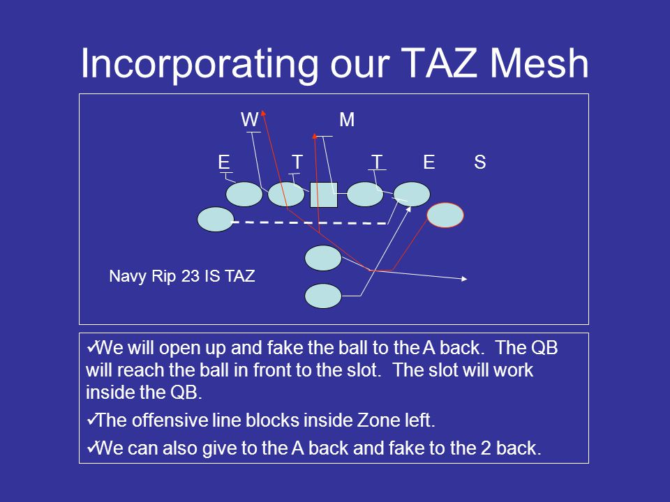 Incorporating our TAZ Mesh