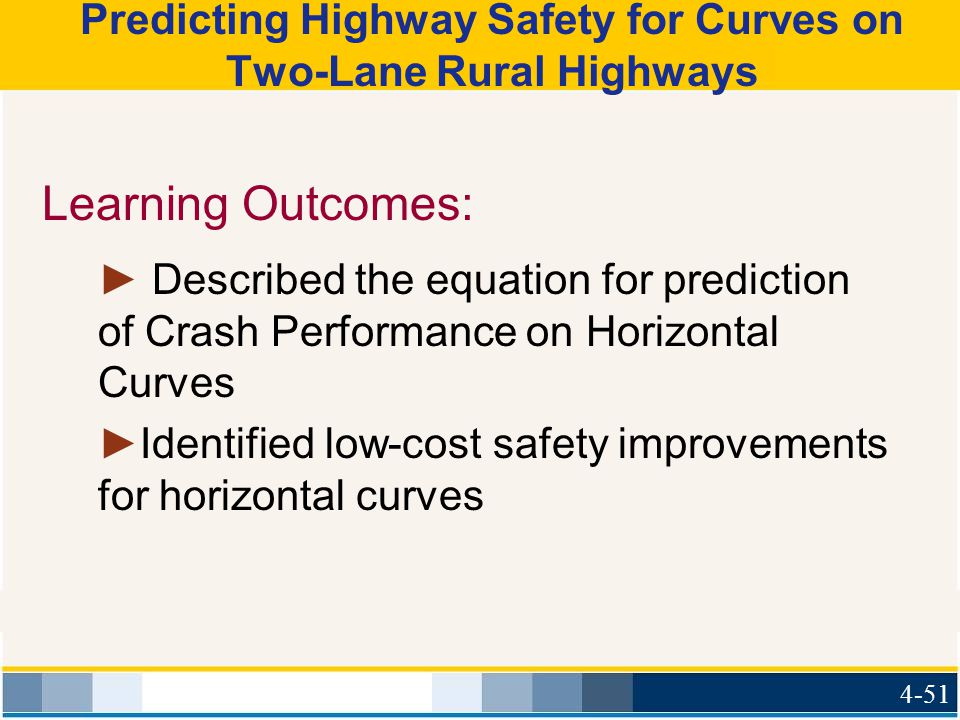Predicting Highway Safety for Curves on Two-Lane Rural Highways