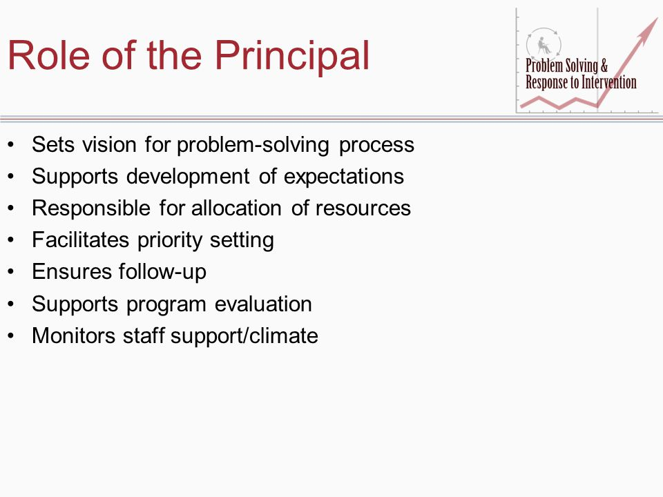 Role of the Principal Sets vision for problem-solving process