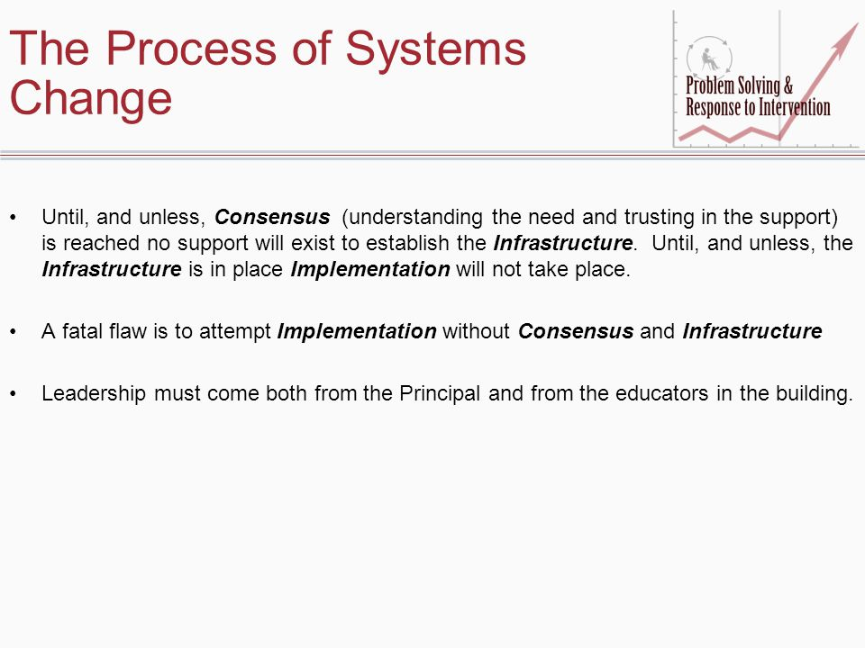 The Process of Systems Change