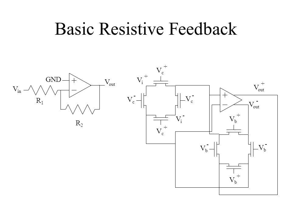 Basic Resistive Feedback