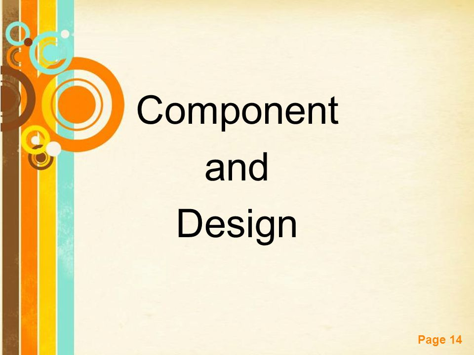 Component and Design