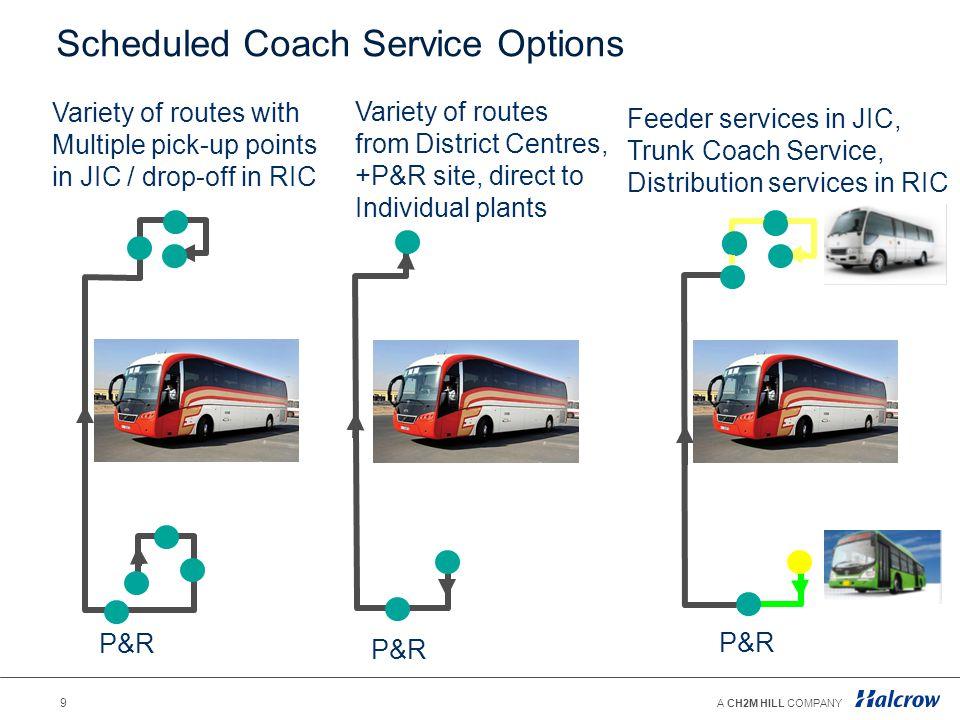 Scheduled Coach Service Options