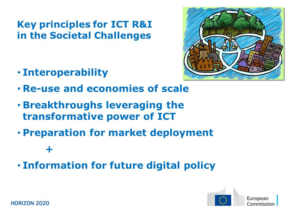 Key principles for ICT R&I in the Societal Challenges