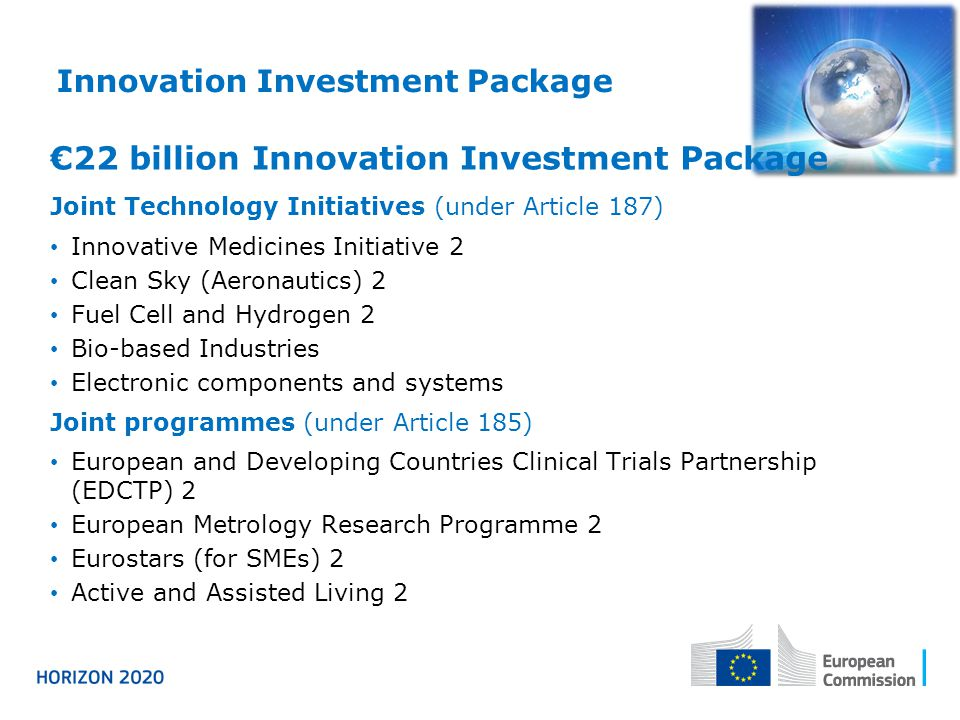 Innovation Investment Package