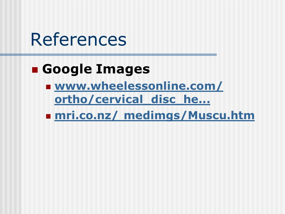 References Google Images