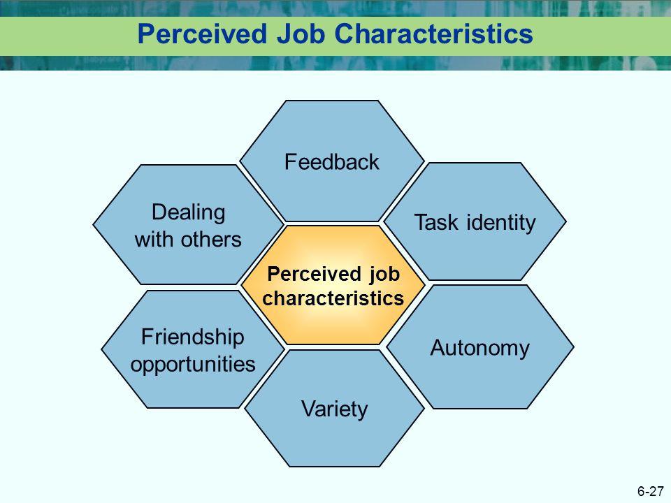 Perceived Job Characteristics