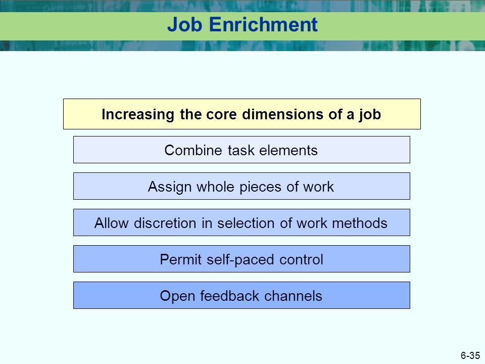 Increasing the core dimensions of a job