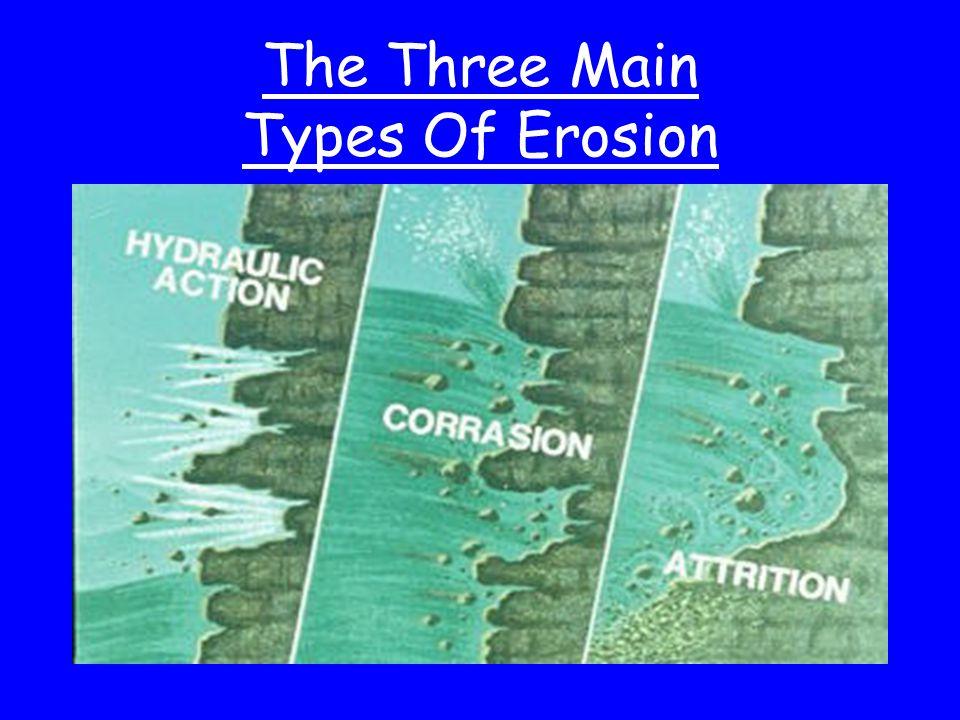 The Three Main Types Of Erosion
