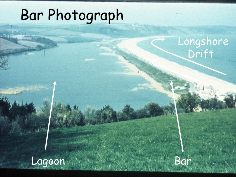 Bar Photograph Longshore Drift Lagoon Bar