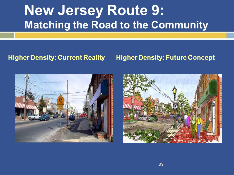 New Jersey Route 9: Matching the Road to the Community