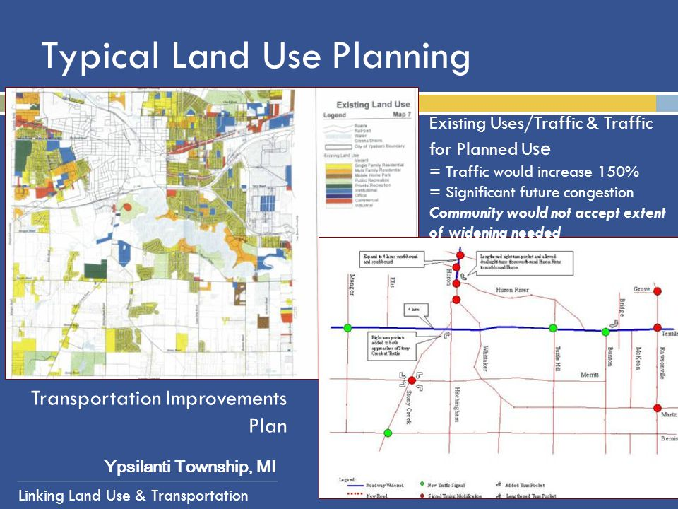 Typical Land Use Planning