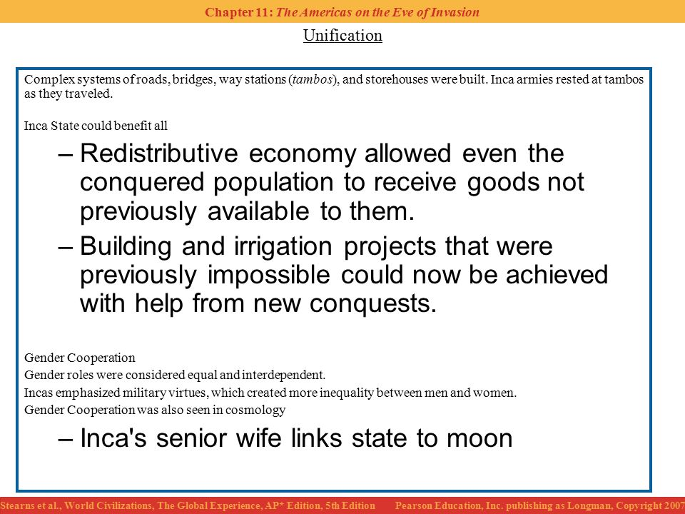 Inca s senior wife links state to moon