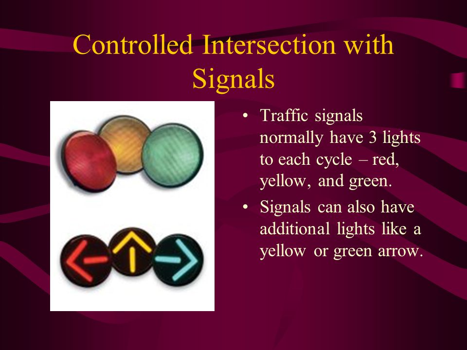 Controlled Intersection with Signals