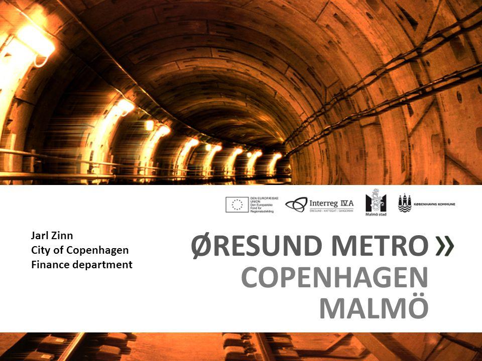 ØRESUND METRO COPENHAGEN MALMÖ