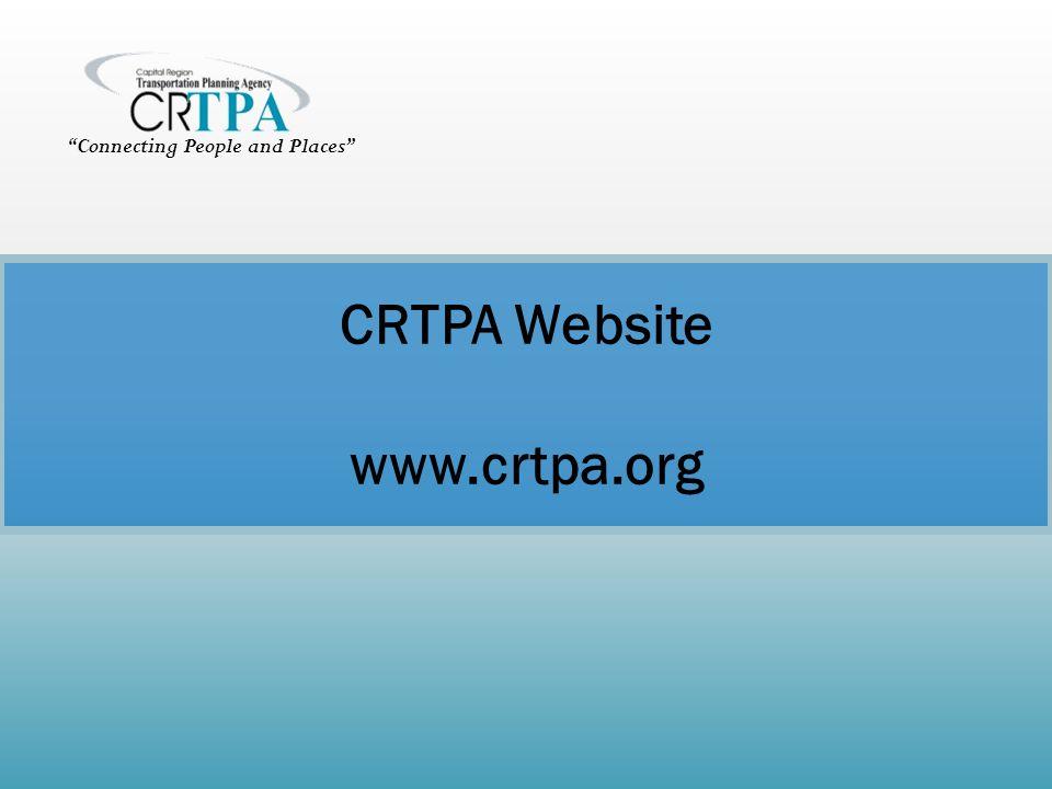 CRTPA Website www.crtpa.org