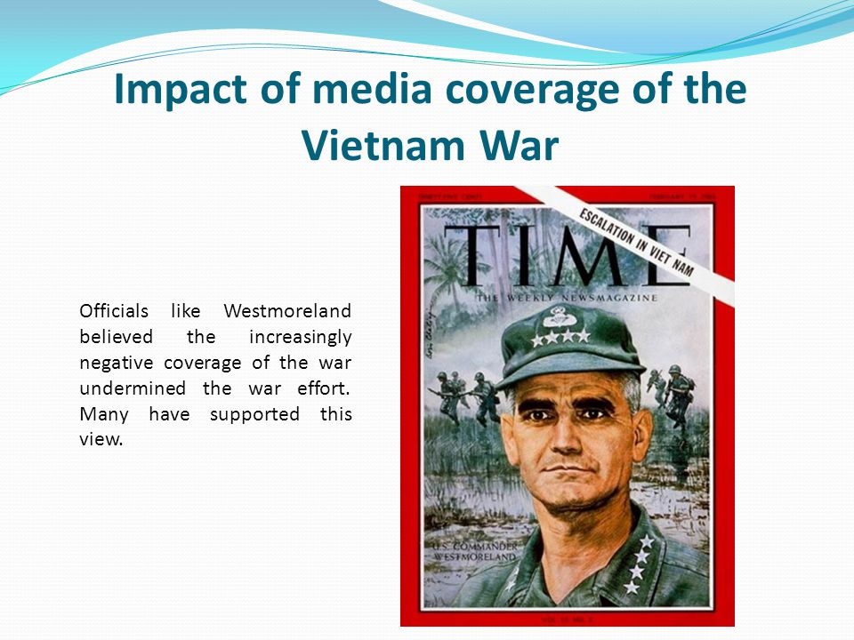 media war coverage The crimean war (1853-1856) is considered to be the first modern mass media war in history the media coverage that was carried out by william howard russell and.