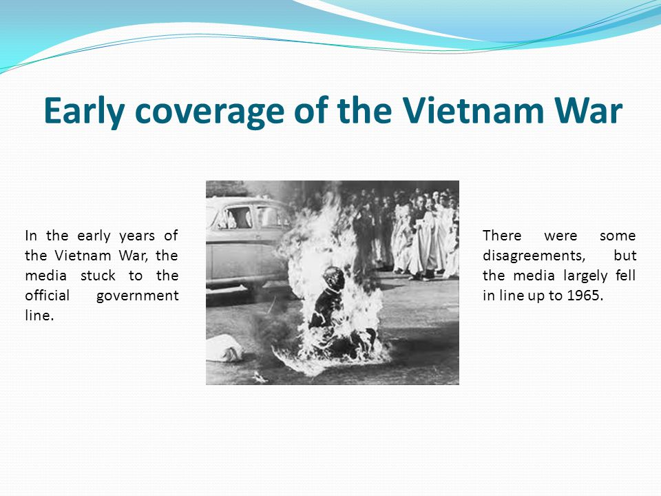 Early coverage of the Vietnam War