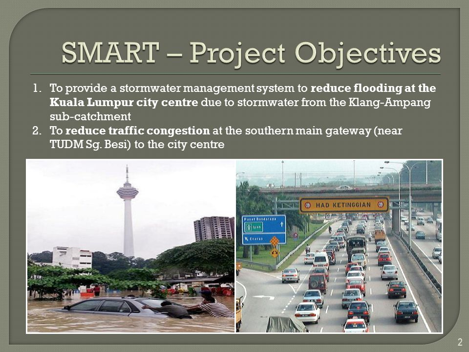 SMART – Project Objectives