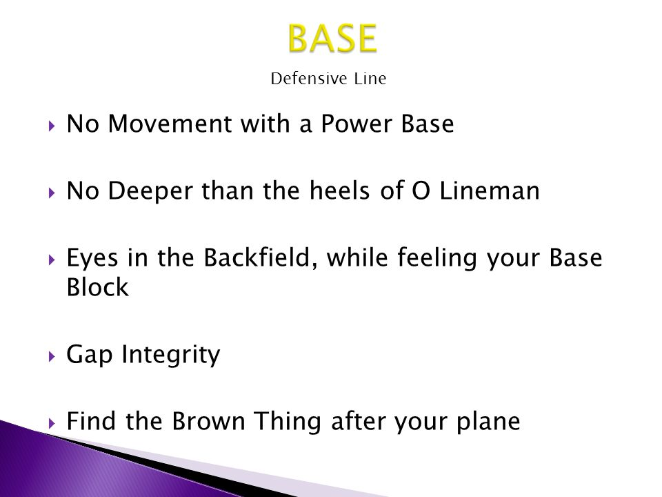 BASE No Movement with a Power Base