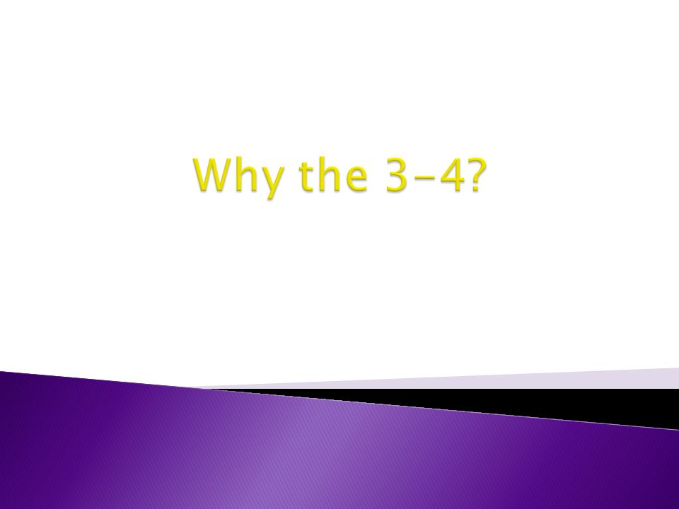 Why the 3-4 We were a 4-3 in 2005 (My First Year)