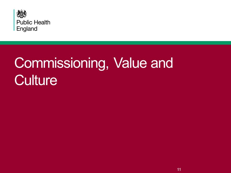 Commissioning, Value and Culture