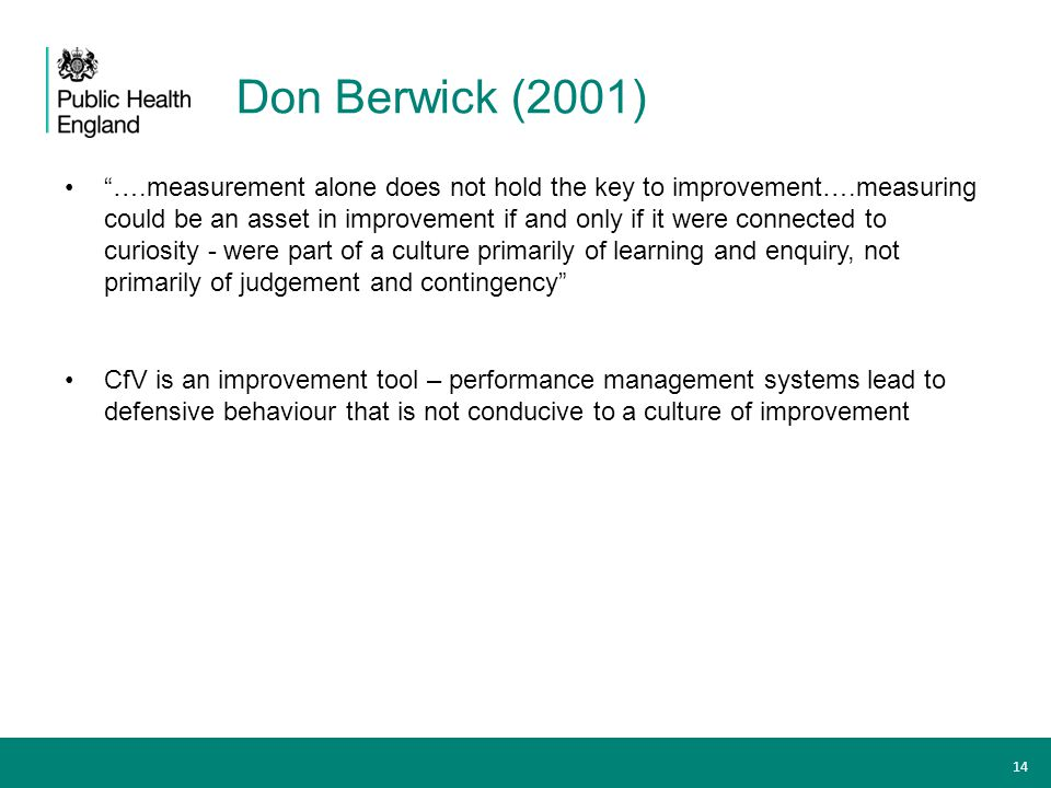 Don Berwick (2001)