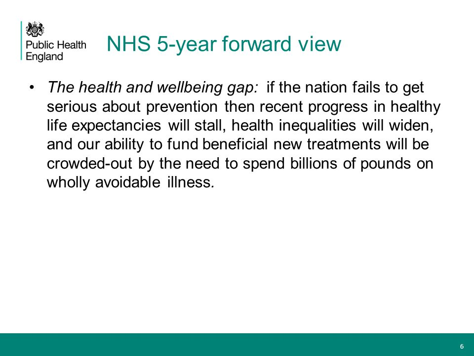 NHS 5-year forward view