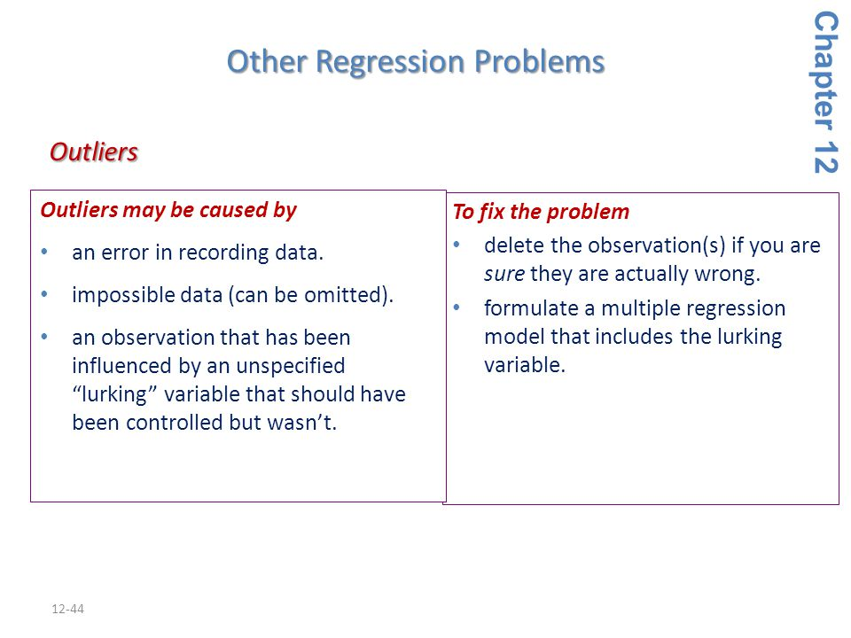 Other Regression Problems