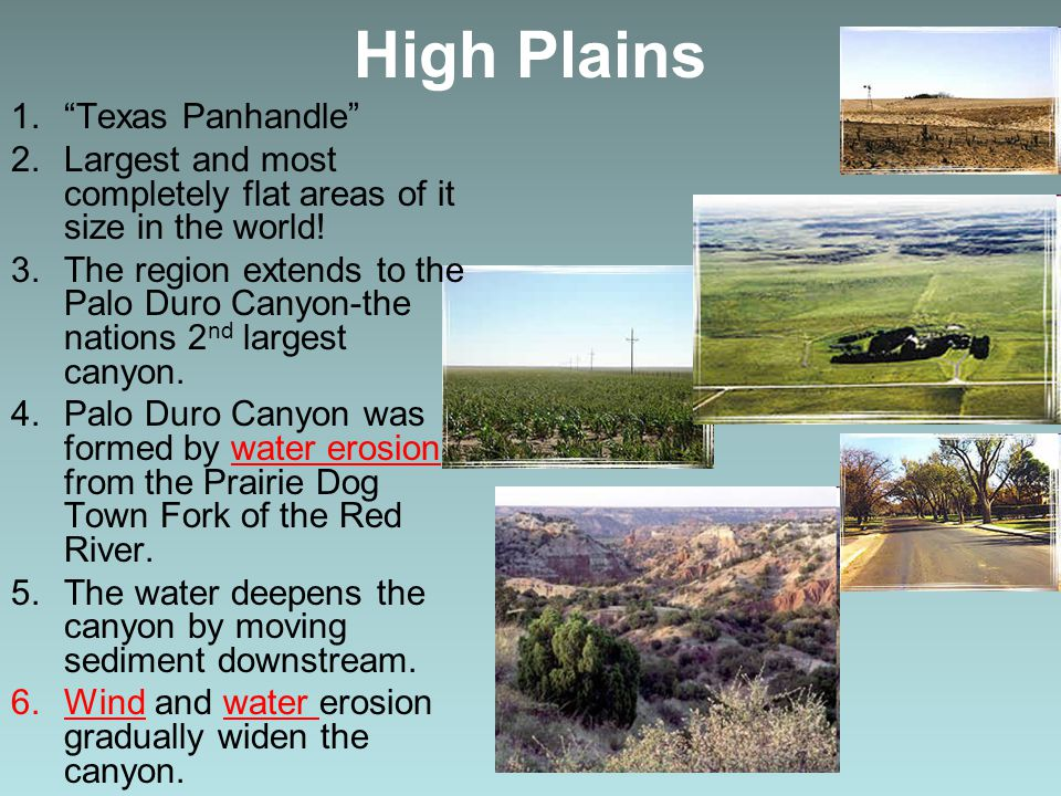 High Plains Texas Panhandle