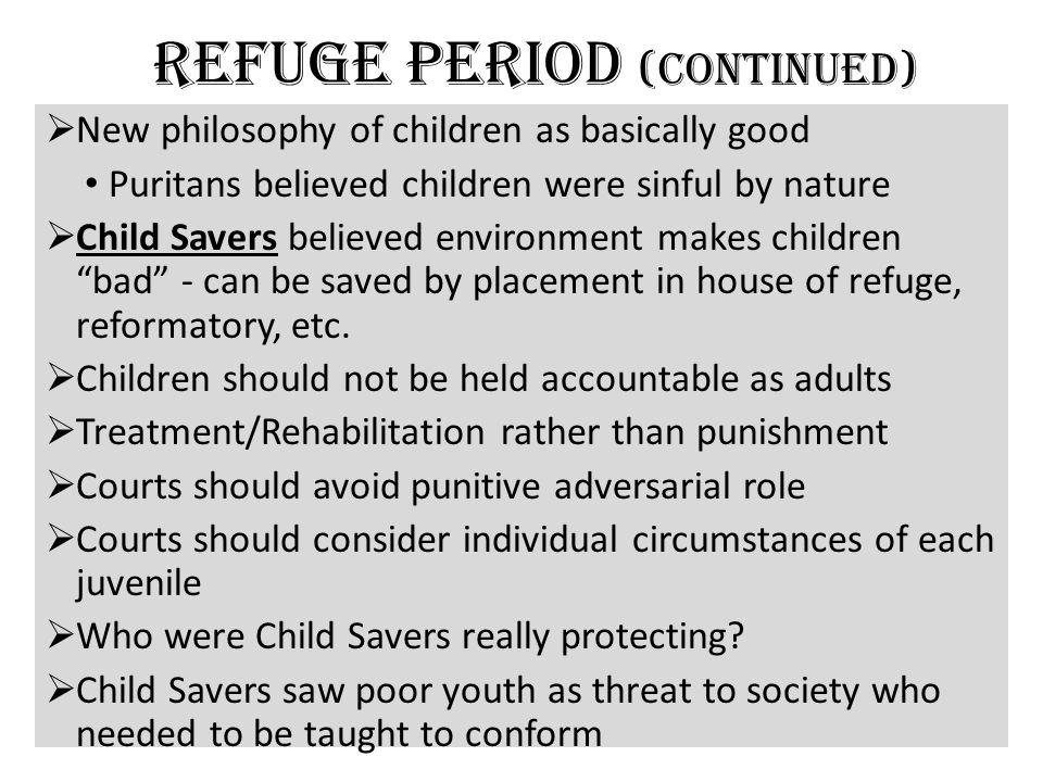 Refuge Period (continued)