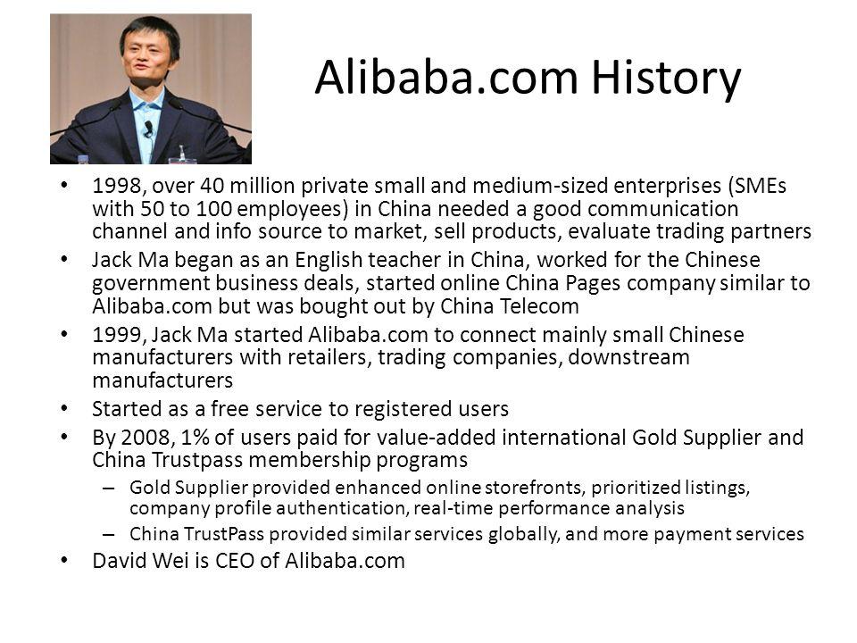 Alibaba.com History