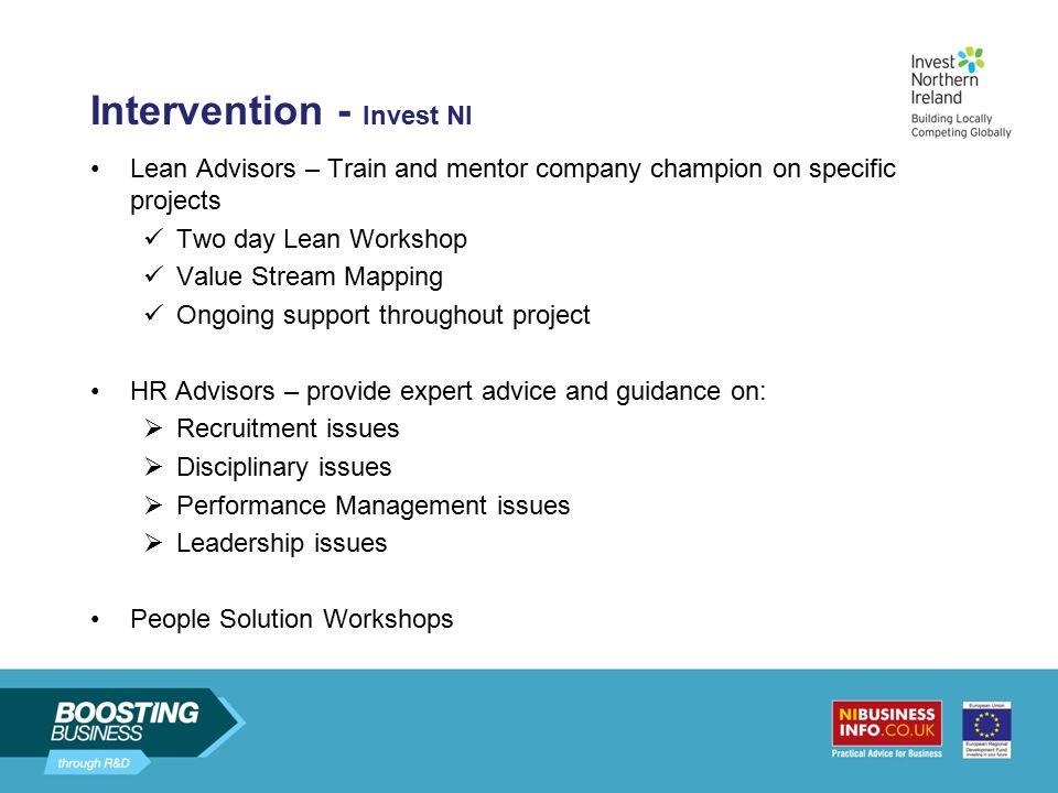 Intervention - Invest NI