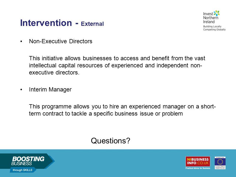 Intervention - External