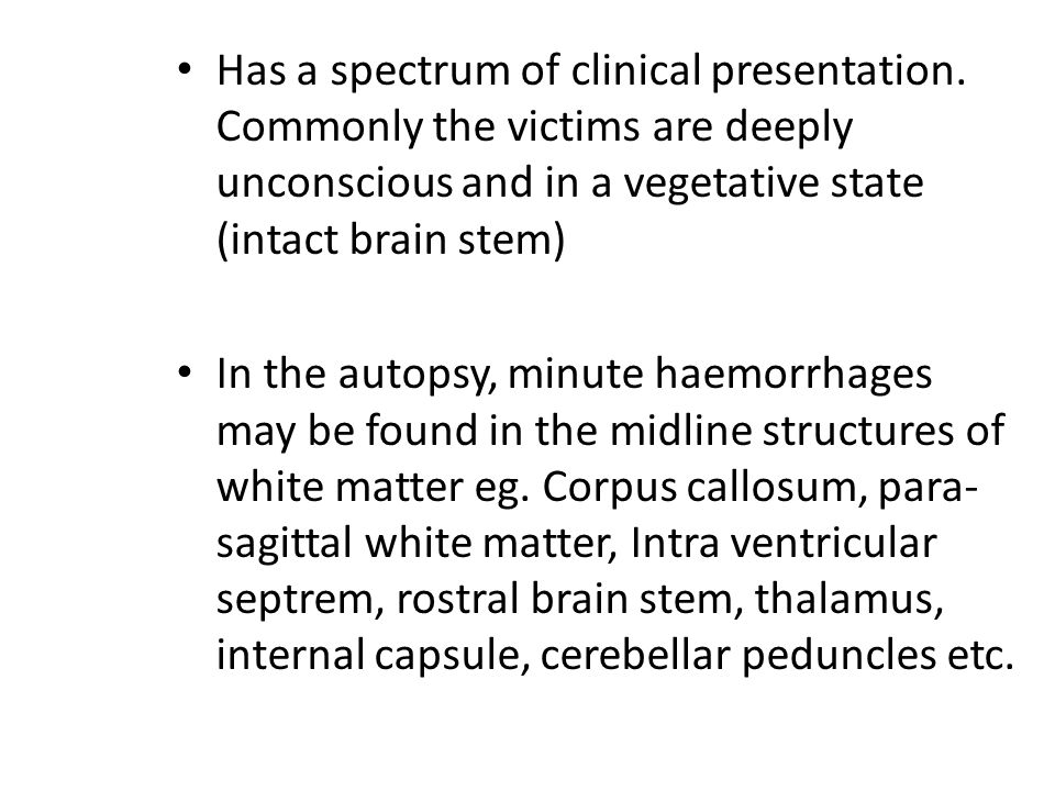 Has a spectrum of clinical presentation
