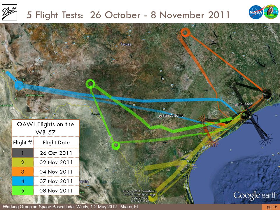 5 Flight Tests: 26 October - 8 November 2011
