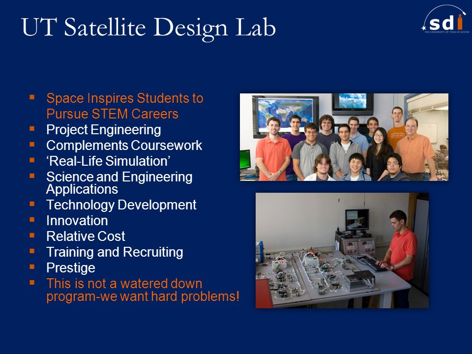 UT Satellite Design Lab