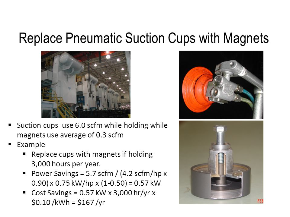 Replace Pneumatic Suction Cups with Magnets