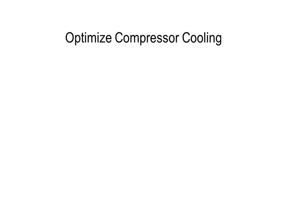 Optimize Compressor Cooling