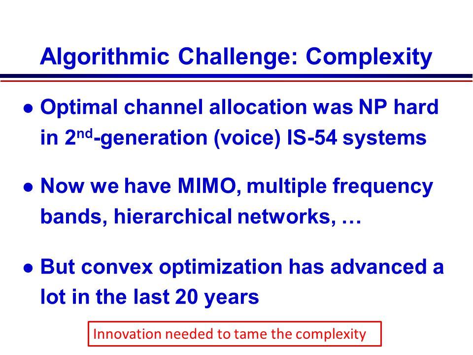 Algorithmic Challenge: Complexity