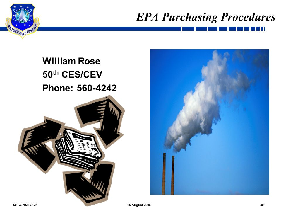EPA Purchasing Procedures