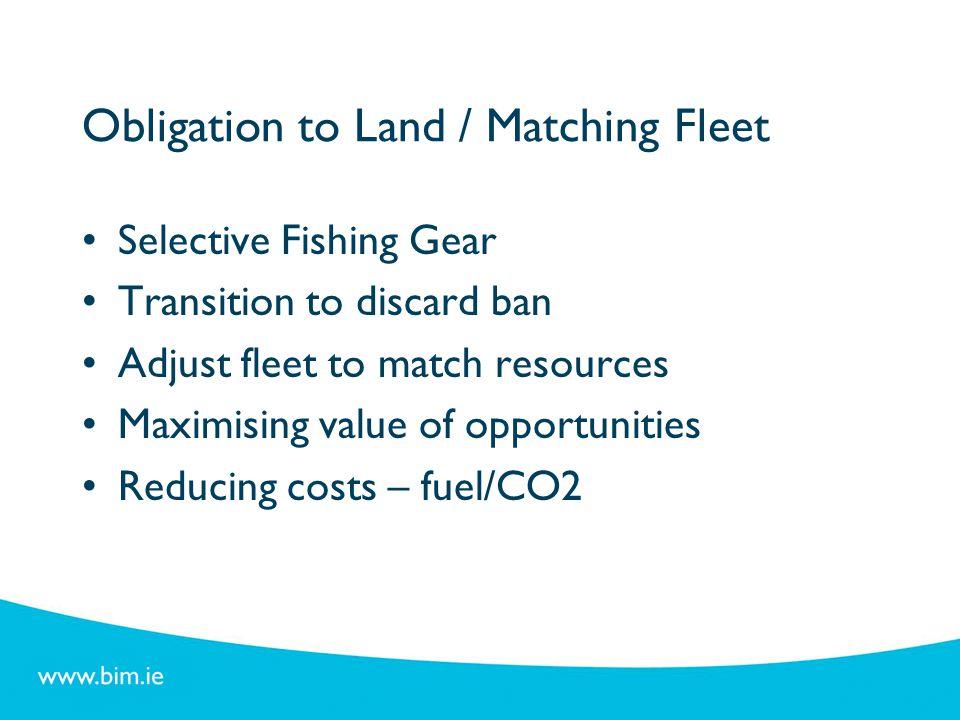 Obligation to Land / Matching Fleet