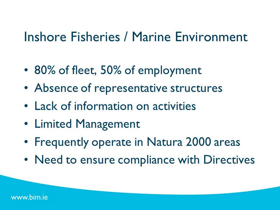 Inshore Fisheries / Marine Environment