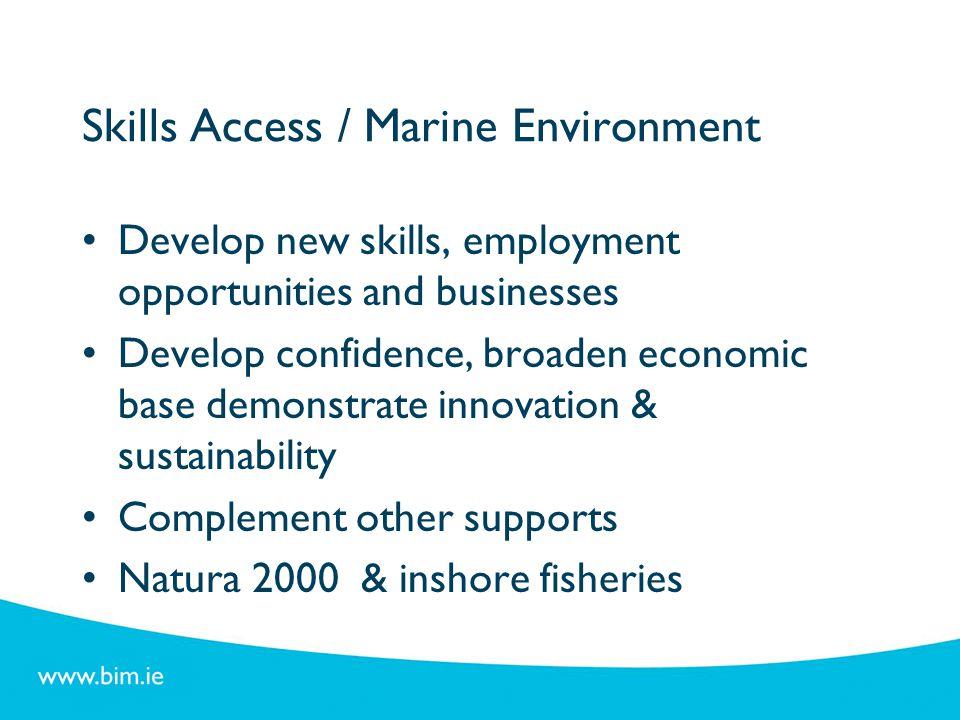 Skills Access / Marine Environment